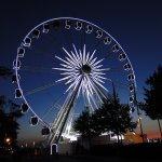 Riesenrad by Night