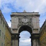 Arco Monumental an der Praça do Comércio