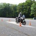 ABS Bremsübung auf Schotterstreifen 2015